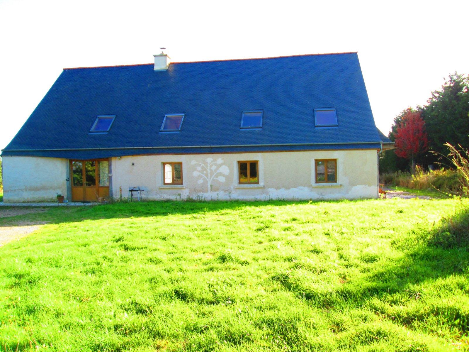 Vente ecologique maison ossature bois et paille - Prix m2 maison ossature bois ...