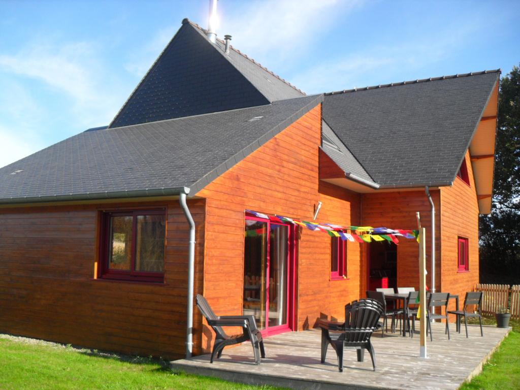 Vente a acheter superbe maison ossature bois plouha for Acheter maison bois
